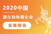 2020中国潜在独角兽企业发展报告